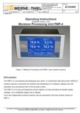 Operating Instructions Moisture Processing Unit FMP-2