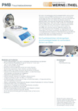 Moisture Analyzer PMB Series